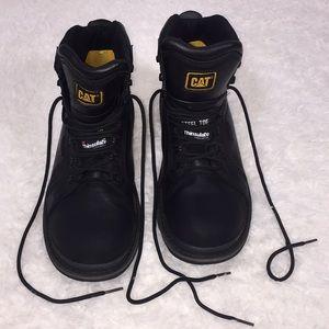 Caterpillar steel toe boots size 11.5 F2413-11